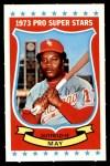 1973 Kellogg's #45  Carlos May  Front Thumbnail