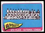 1965 Topps #209   Pirates Team Front Thumbnail