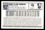 1973 Kellogg's #42  Manny Sanguillen  Back Thumbnail