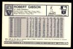 1973 Kellogg's #14  Bob Gibson  Back Thumbnail