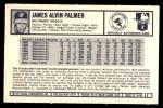 1973 Kellogg's #17  Jim Palmer  Back Thumbnail