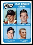 1965 Topps #546   -  Bill Davis / Floyd Weaver / Ray Barker / Mike Hedlund Indians Rookies Front Thumbnail