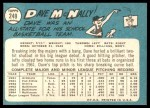 1965 Topps #249  Dave McNally  Back Thumbnail