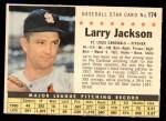 1961 Post #174 COM Larry Jackson   Front Thumbnail