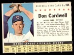 1961 Post #194 COM Don Cardwell   Front Thumbnail