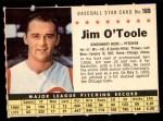 1961 Post #189 COM Jim O'Toole  Front Thumbnail