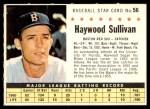 1961 Post #56 COM Haywood Sullivan   Front Thumbnail