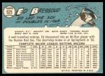 1965 Topps #525  Eddie Bressoud  Back Thumbnail