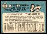 1965 Topps #358  Albie Pearson  Back Thumbnail