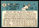 1965 Topps #305  Rico Carty  Back Thumbnail