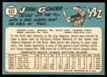 1965 Topps #423  Jesse Gonder  Back Thumbnail