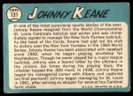 1965 Topps #131  Johnny Keane  Back Thumbnail