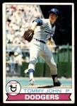 1979 Topps #255  Tommy John  Front Thumbnail
