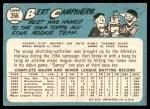 1965 Topps #266  Bert Campaneris  Back Thumbnail