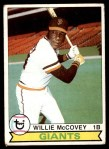 1979 Topps #215  Willie McCovey  Front Thumbnail