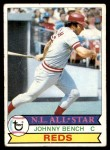 1979 Topps #200  Johnny Bench  Front Thumbnail