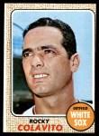 1968 Topps #99  Rocky Colavito  Front Thumbnail