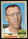 1968 Topps #423  Fred Gladding  Front Thumbnail