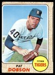 1968 Topps #22  Pat Dobson  Front Thumbnail