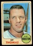1968 Topps #438  Lee Thomas  Front Thumbnail