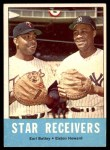 1963 Topps #306   -  Earl Battey / Elston Howard Star Receivers   Front Thumbnail