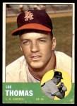 1963 Topps #441  Lee Thomas  Front Thumbnail