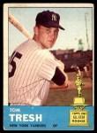 1963 Topps #470  Tom Tresh  Front Thumbnail