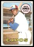 1969 Topps #625  Mack Jones  Front Thumbnail