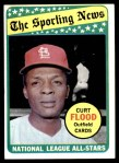 1969 Topps #426   -  Curt Flood All-Star Front Thumbnail