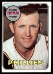 1969 Topps #51  Woody Fryman  Front Thumbnail