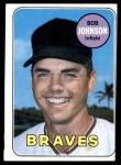 1969 Topps #261  Bob Johnson  Front Thumbnail