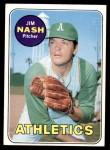 1969 Topps #546  Jim Nash  Front Thumbnail