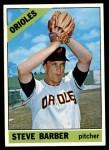 1966 Topps #477  Steve Barber  Front Thumbnail