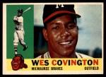 1960 Topps #158  Wes Covington  Front Thumbnail