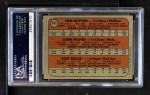 1972 Topps #741   -  Tom Hutton / Rick Miller / John Milner AL - NL Rookies Back Thumbnail