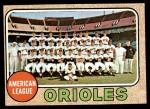 1968 Topps #334   Orioles Team Front Thumbnail