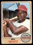 1968 Topps #190  Bill White  Front Thumbnail