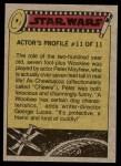 1977 Topps Star Wars #127   The Rebel fleet Back Thumbnail