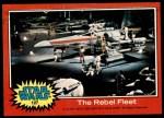 1977 Topps Star Wars #127   The Rebel fleet Front Thumbnail