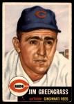 1953 Topps #209  Jim Greengrass  Front Thumbnail
