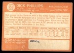 1964 Topps #559  Dick Phillips  Back Thumbnail
