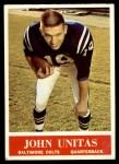 1964 Philadelphia #12  Johnny Unitas  Front Thumbnail