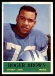 1964 Philadelphia #58  Roger Brown   Front Thumbnail