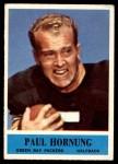 1964 Philadelphia #74  Paul Hornung   Front Thumbnail