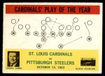 1964 Philadelphia #182   -  Wally Lemm  Cardinals Play of the Year Front Thumbnail