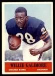 1964 Philadelphia #19  Willie Galimore  Front Thumbnail