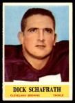 1964 Philadelphia #40  Dick Schafrath  Front Thumbnail