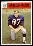 1966 Philadelphia #123  Jerry Hillebrand  Front Thumbnail