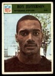 1966 Philadelphia #150  Roy Jefferson  Front Thumbnail