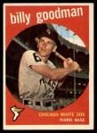 1959 Topps #103  Billy Goodman  Front Thumbnail